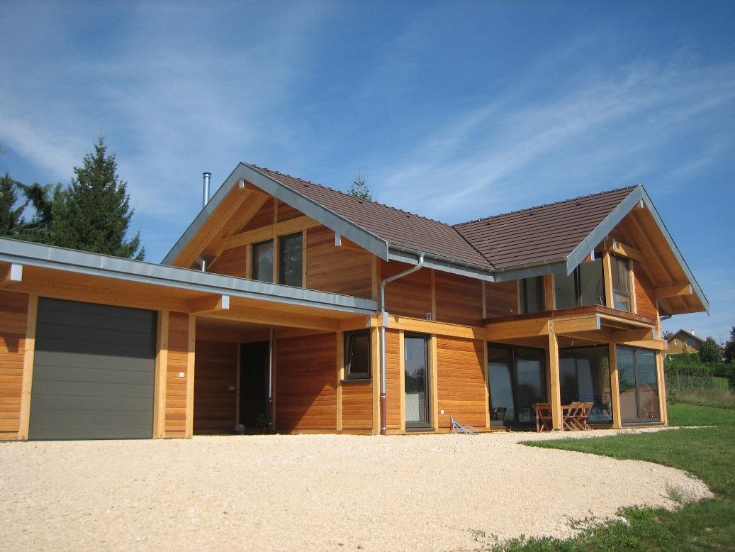 maison en bois isere